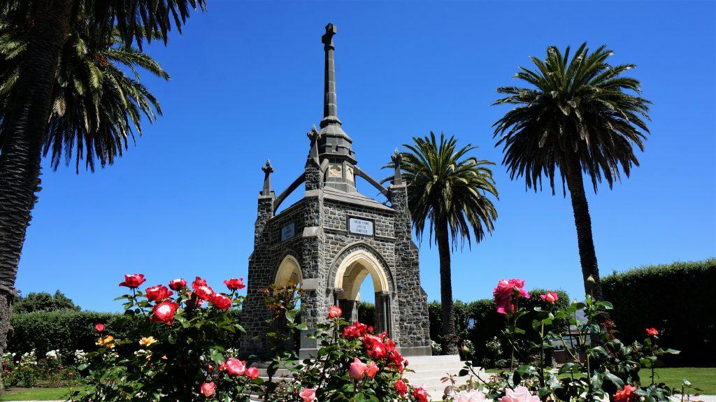 纽西兰邮轮 - 战争纪念碑 (Peninsula War Memorial)