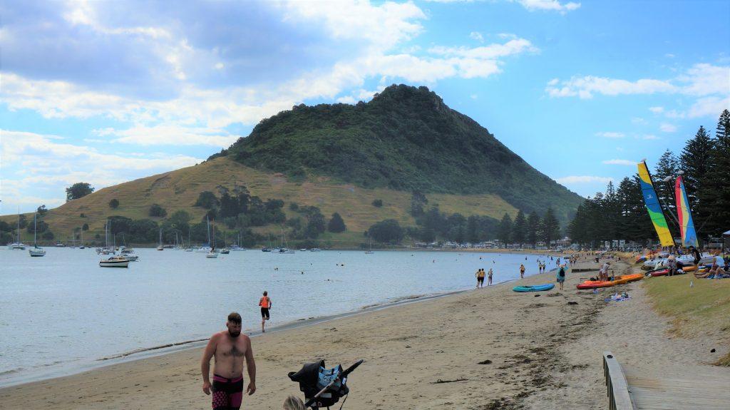陶朗加岸上觀光 - 芒格努伊山 (Mount Maunganui)