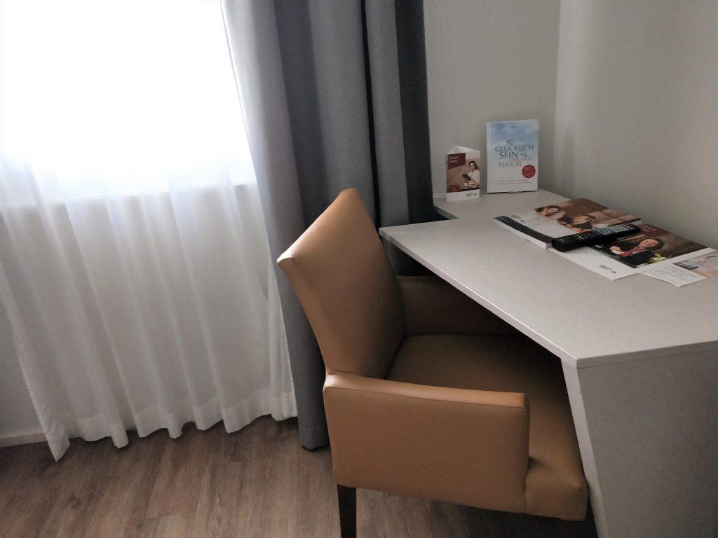 維也納中央車站住宿 - 飯店房間書桌