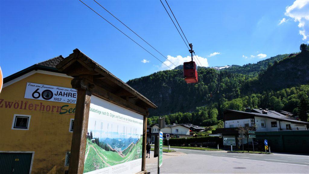 奧地利湖區自由行 - 十二角峰 (Zwölferhorn Mountain) 登山纜車