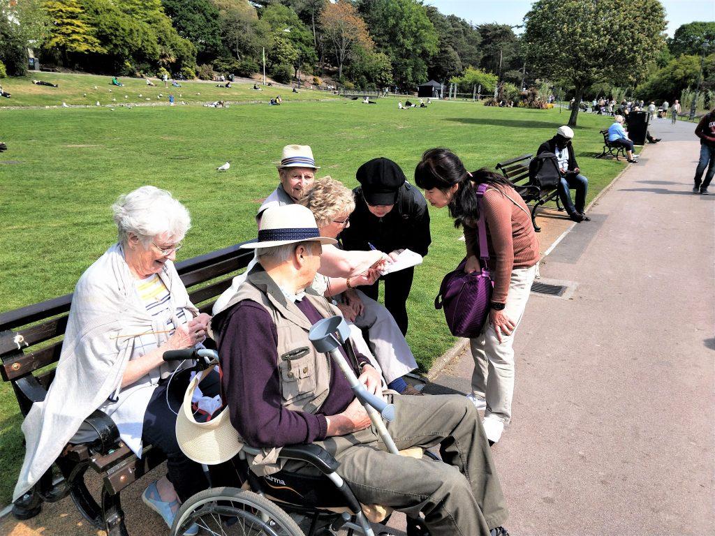 50+英國熟齡遊學資料照片