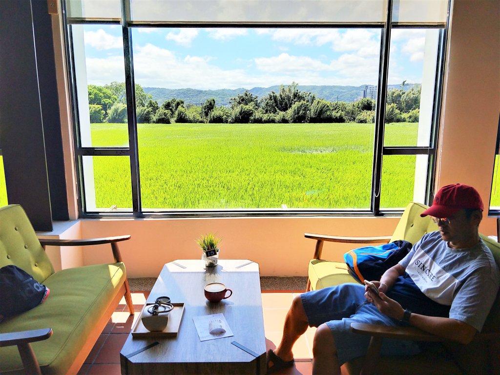 穀倉咖啡廳的視野