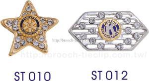 紀念章ST010 ∕ ST012
