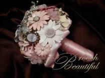 Vintage Pink Brooch bouquet web4