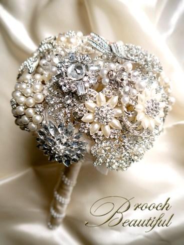 pearl bling brooch bouquet web1