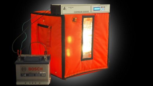 Acasă incubator de ou Mini Zoom 90 Baterie