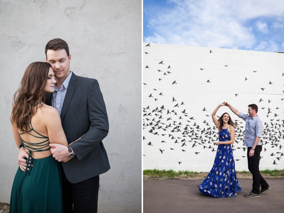 Downtown Phoenix Engagement