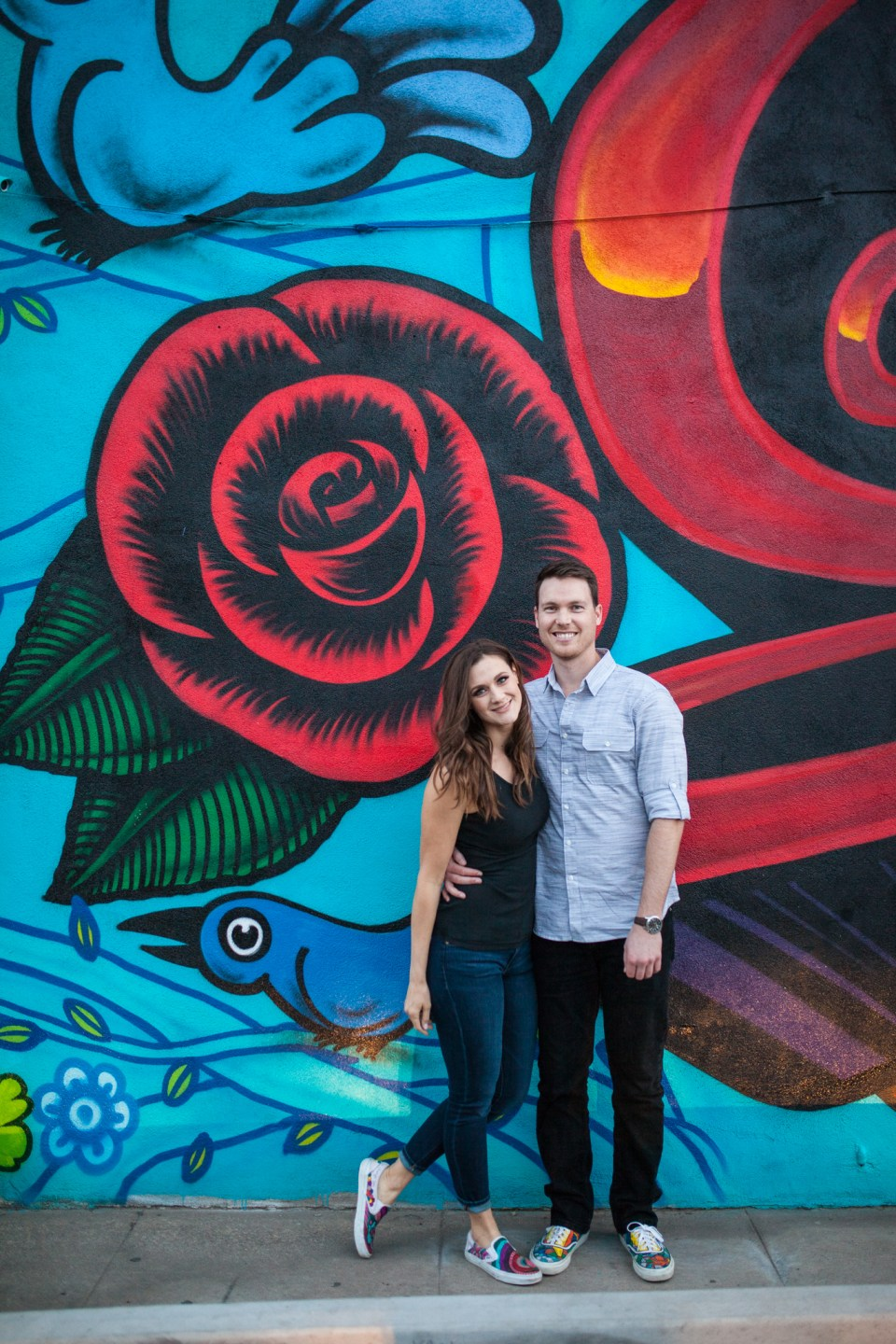downtown phoenix engagement photos engagement pictures engagement photographer for engagement session
