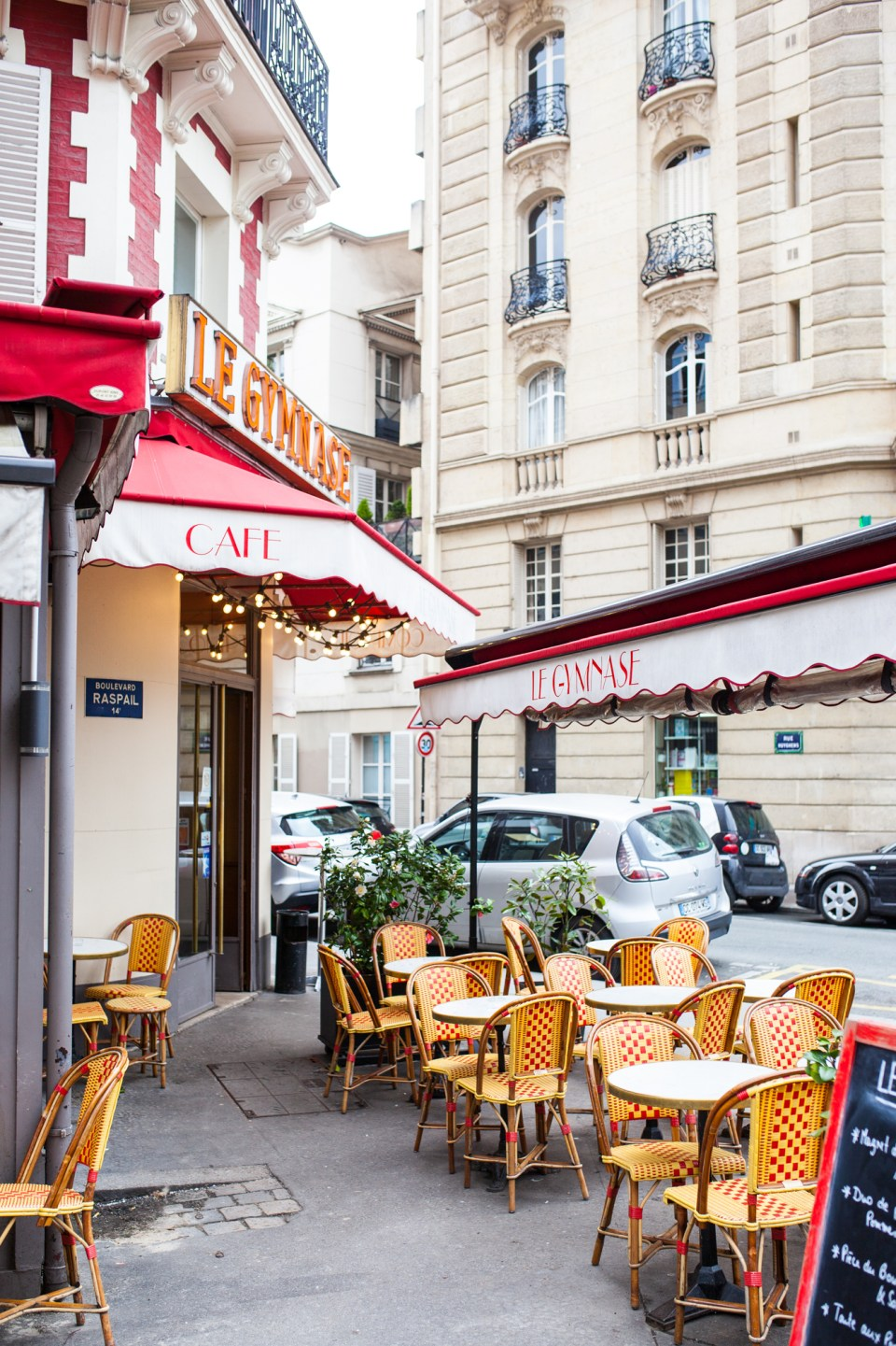 french cafe in Paris France