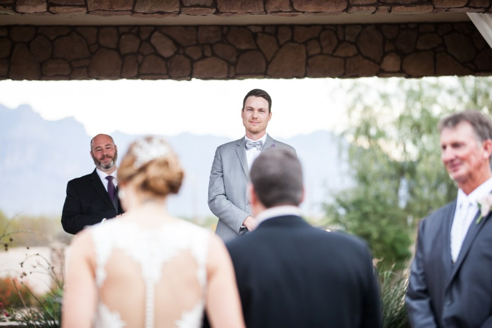 groom reaction seeing bride for the first time