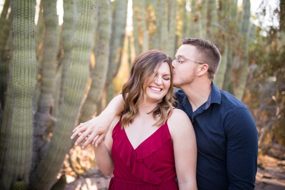 Phoenix Desert Engagement Photography