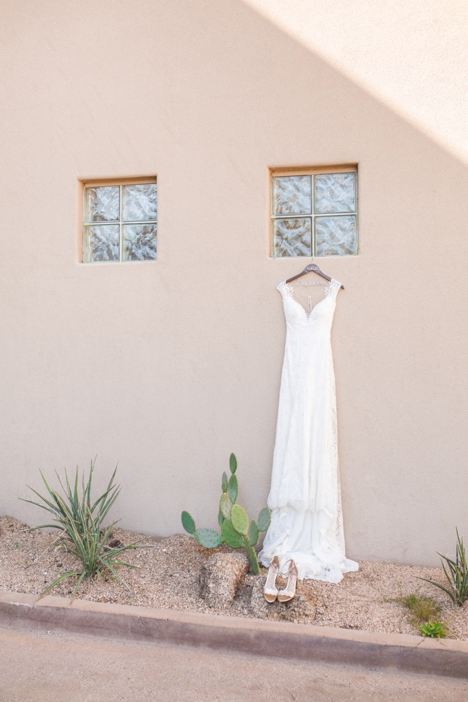 Eddy K wedding dress with straps