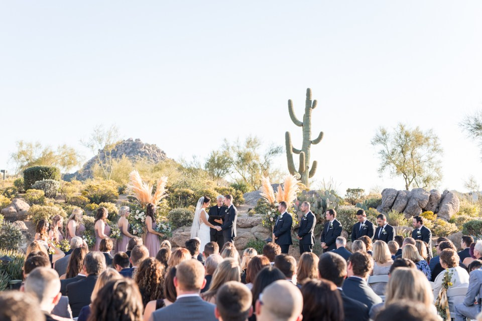 troon north desert wedding ceremony