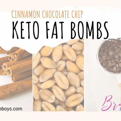 Keto Fat Bomb – Cinnamon Chocolate Chip