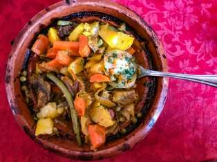 Another incredible chicken tajine