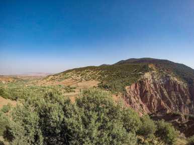 The beautiful Atlas Mountains