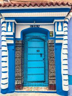 Beautiful doors in Chefchaouen