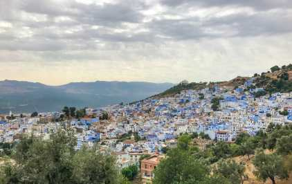 Chefchaouen from the Spanish Mosque