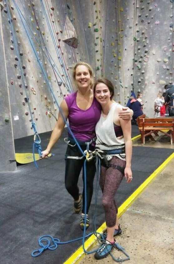 A final climb with Jess