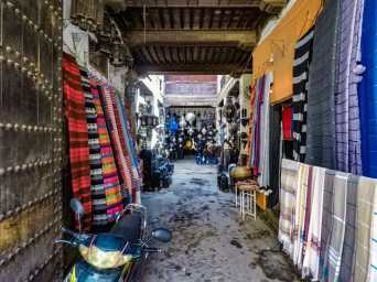 One of the many souks