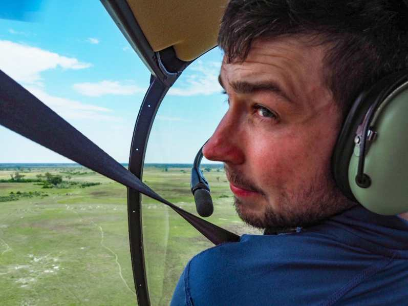 Cal is contemplating a career change to heli pilot