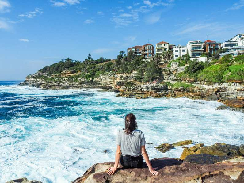 On the way to Bronte Beach