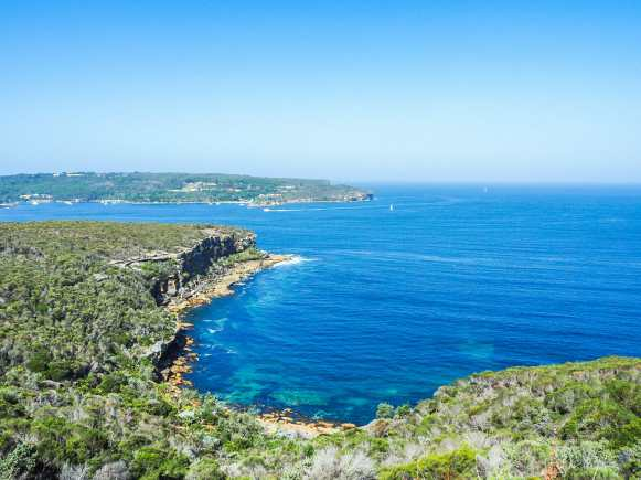 North Head in the distance