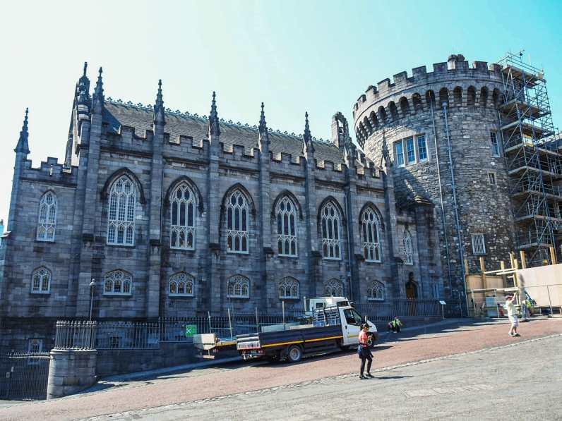 Chapel Royal, the best part of Dublin Castle