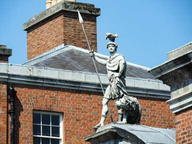 Statue of Fortitude at Dublin Castle
