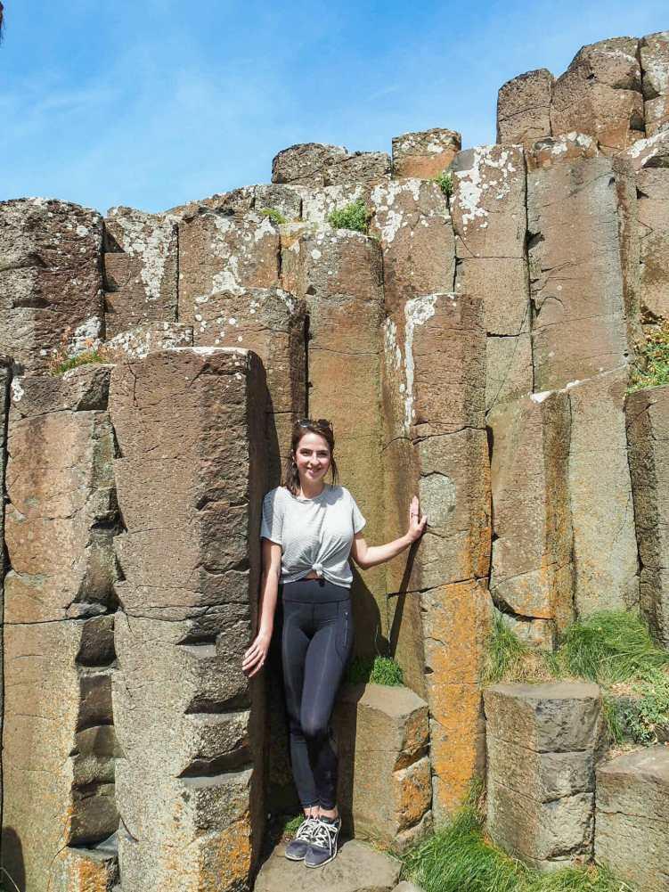 Human-sized columns