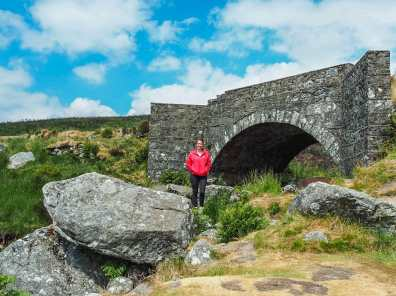 """Below the """"PS I Love You bridge"""" in the Wicklow Mountains National Park"""