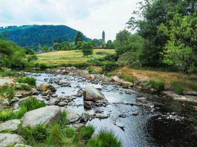 Nearby Glendalough