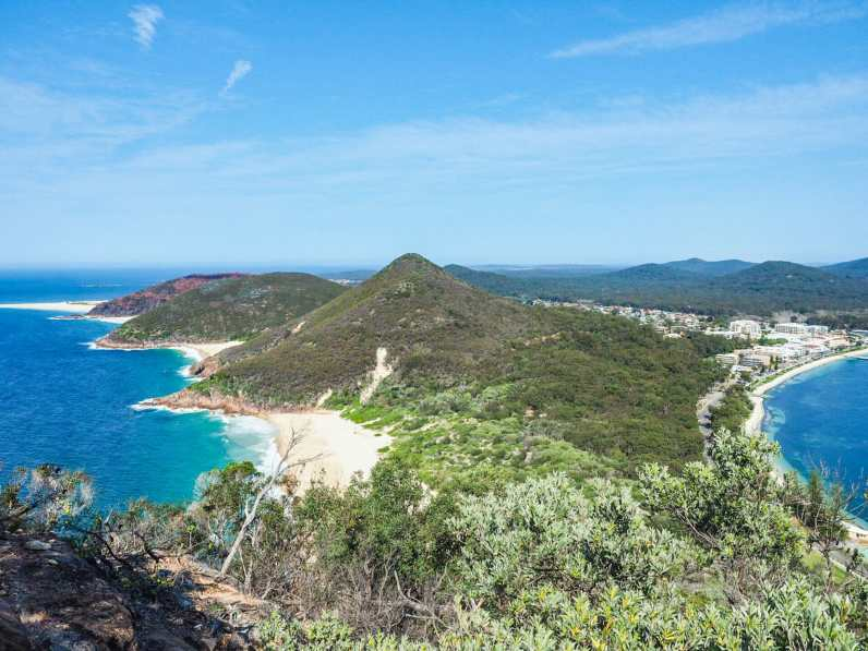 Panoramic views from Tomaree Head
