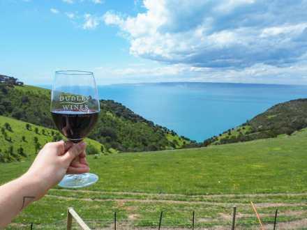 Best wine on Kangaroo Island