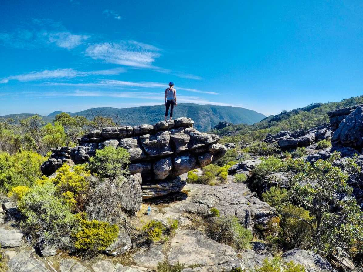 Geology on show in the Grampians