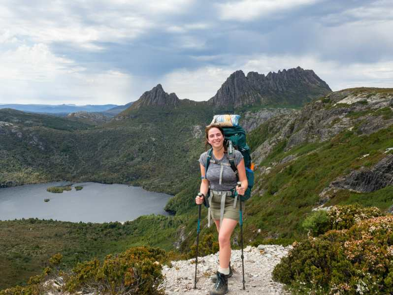 One of the best views of Cradle Mountain