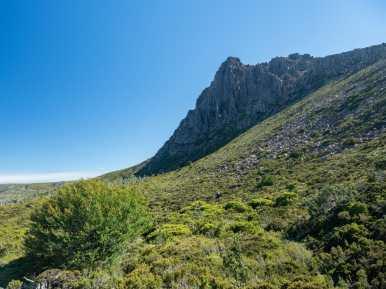 Saying goodbye to Cradle Mountain