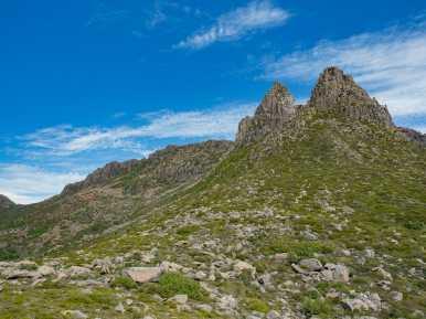 Tasmania's tallest mountain, Mt Ossa
