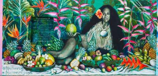 Amazing artwork at Bondi Beach