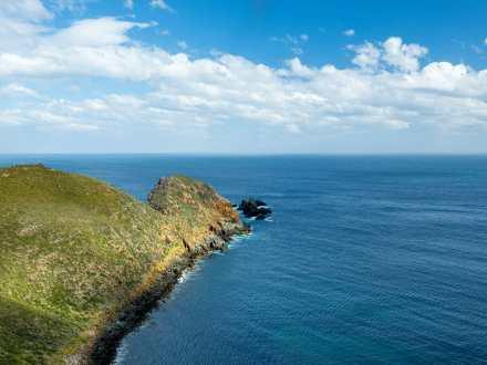 Beautiful scenery at Cape Bruny