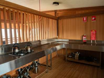 Amazing kitchen at Surveyors Hut