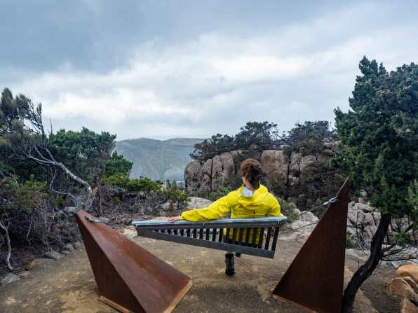 One of my favourite storyseats of the whole hike
