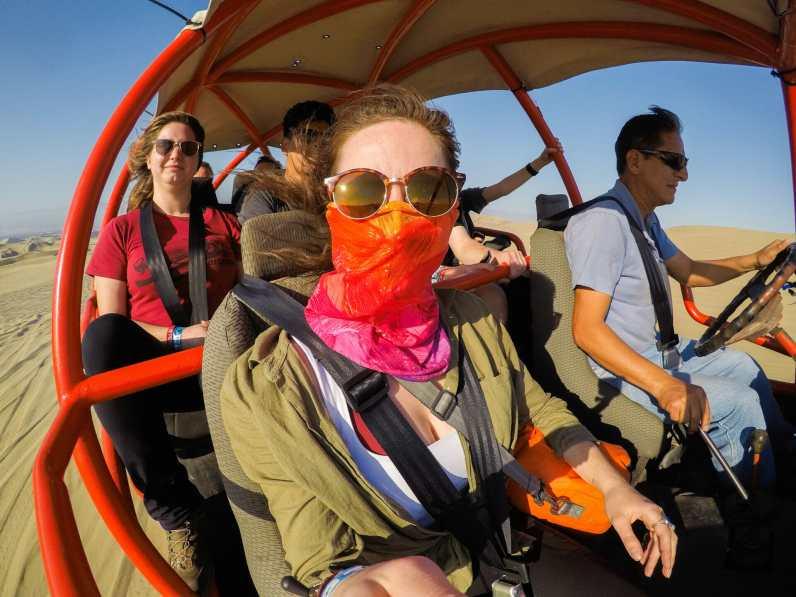 Dune buggy rides in Huacachina