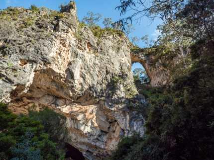 Carlotta Arch from below