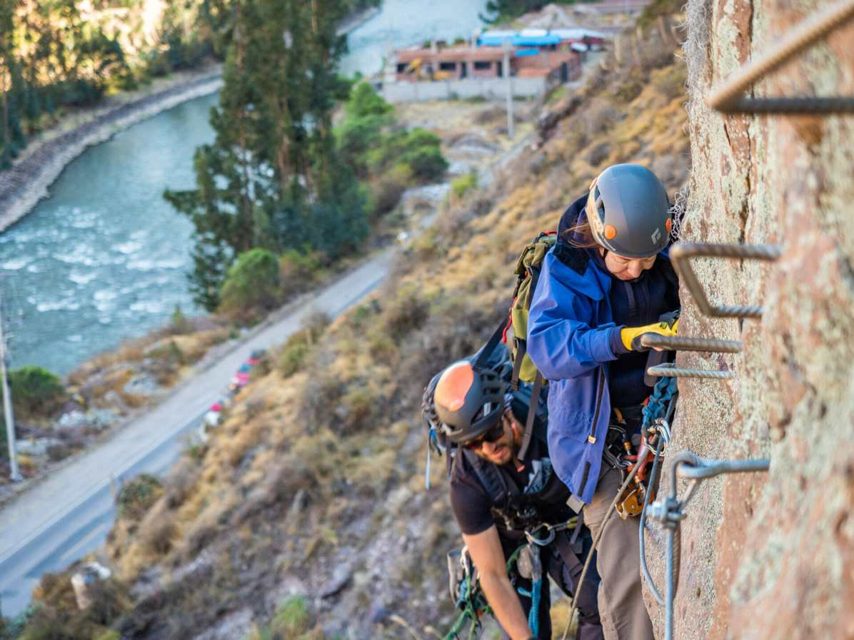 Climbing in Peru's Sacred Valley