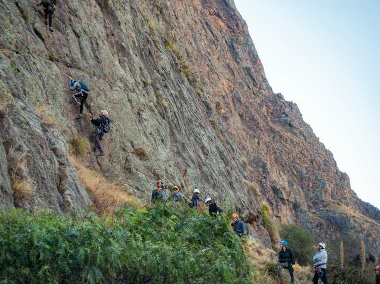 Climbing in the Sacred Valley