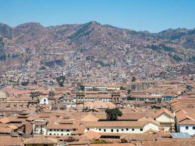 View from Limbus Restobar in San Blas