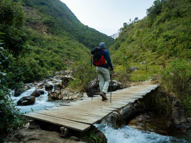 Back on the trail for day 3 of our Salkantay Trek