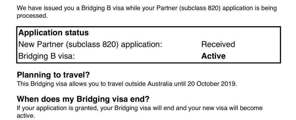Kết quả hình ảnh cho australia bridging visa
