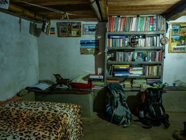 Our simple but wonderful room in Huayllapa